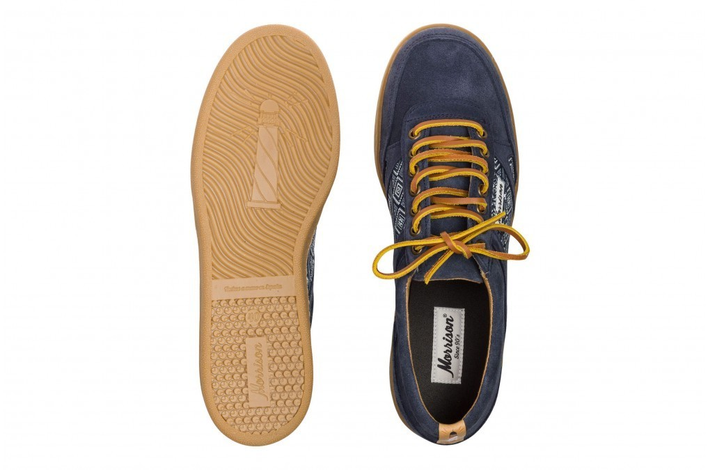 Two-Tone Leather Laces